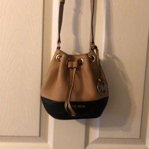 Michael Kors mini bucket bag crossbody